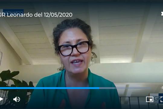La Prof.ssa Sahra Talamo al TG3 Leonardo