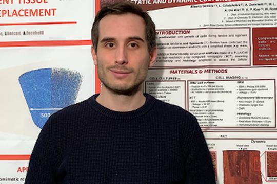 Un ricercatore Unibo ha vinto il premio Best Doctoral Thesis in Biomechanics 2020