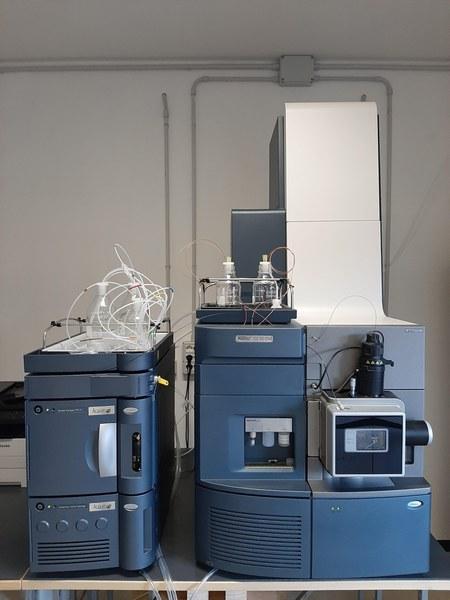Sistema cromatografico UPLC
